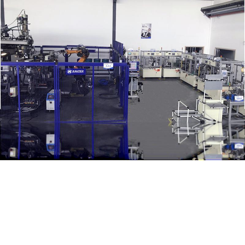 焊接组装测试流水线