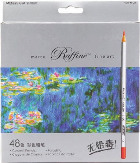 马可油性彩铅/72色彩铅/秘密花园填色笔