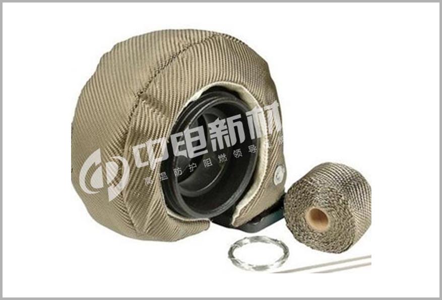涡轮增压隔热罩(钛色)
