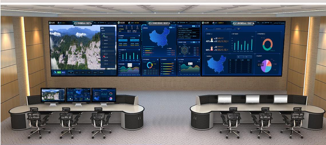 """数据多跑路,人员少跑腿!智慧综合管理平台2.0""""首秀""""武当大明峰"""