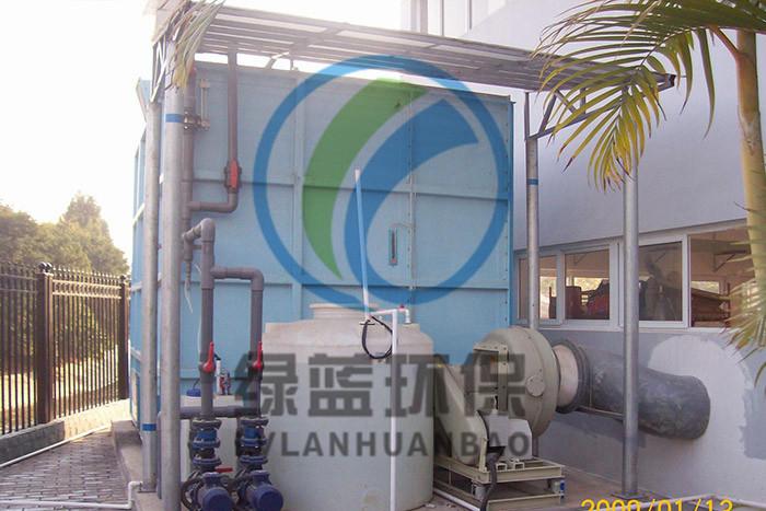 深圳市布吉河特区流域洪湖西路泵站除臭