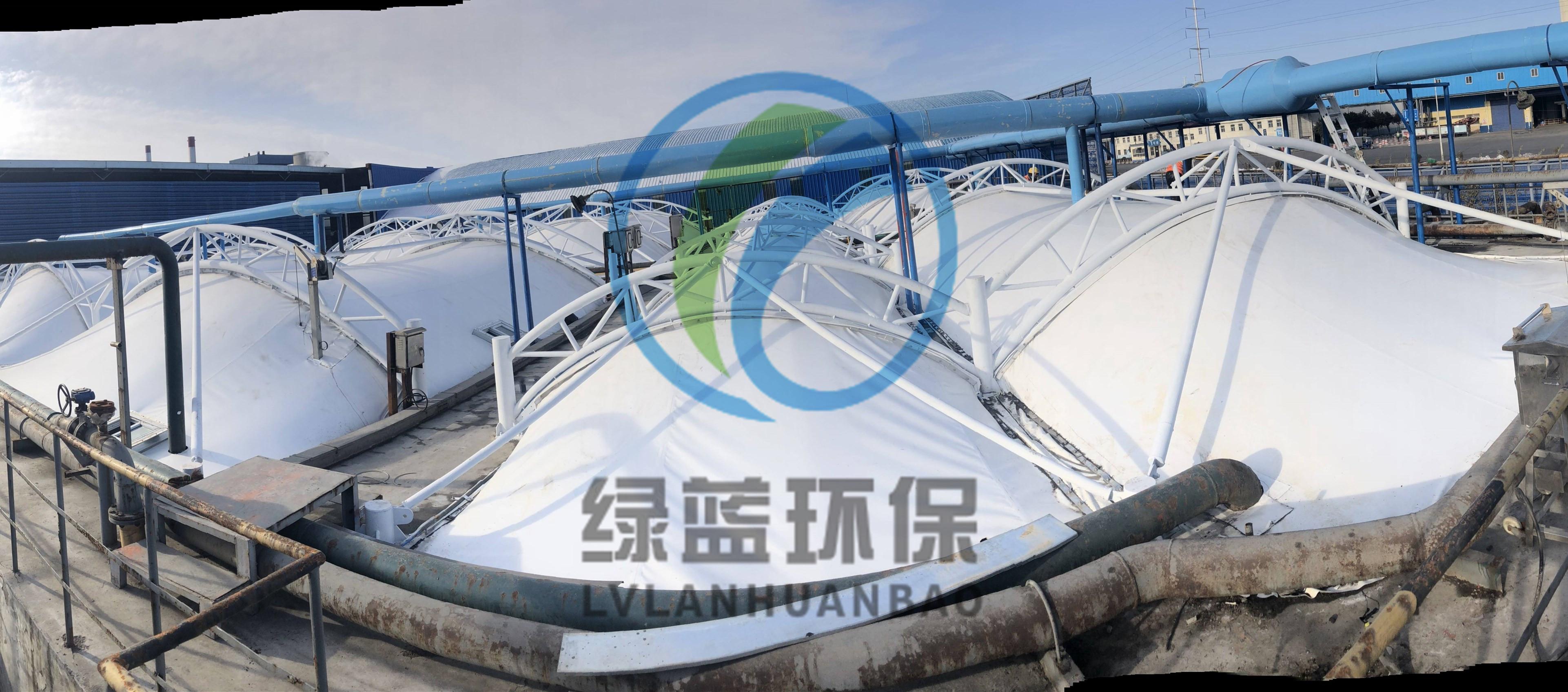 河南心连心化肥有限公司二分厂污水池加盖
