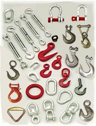 索具(鋼絲繩夾、紮頭、卸扣、三角環)