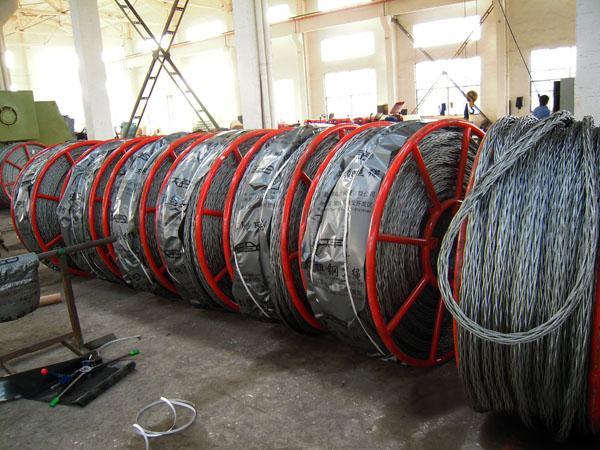 電力編織無扭鋼絲繩